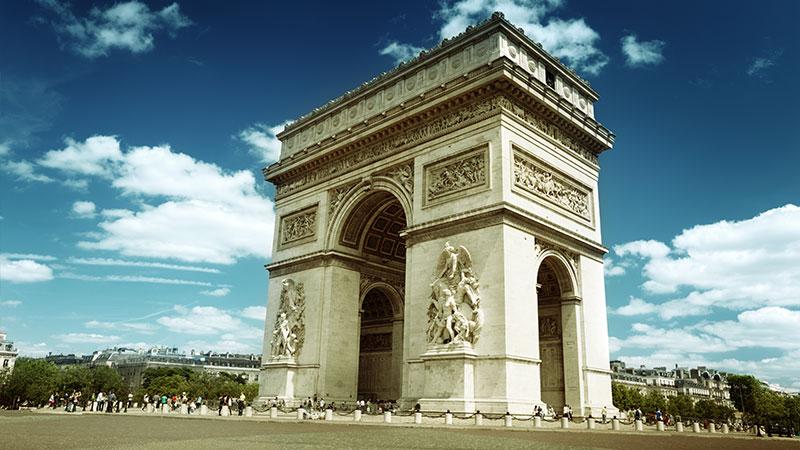 Triumfbuen I Paris Paristips